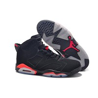 Big Size, To Special You! Nike Air Jordan 6 Retro AJ6 Black/Red Size US 14,15,16