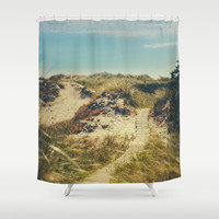 I want the ocean Shower Curtain by HappyMelvin