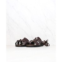 Sbicca - Women's Ankle Wrap Marmand Leather Sandals in Brown