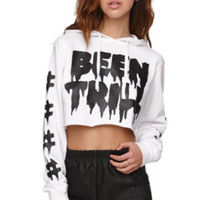 Been Trill Drip Cropped Hoodie at PacSun.com