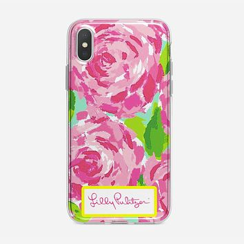 Lilly Pulitzer First Impression Rose Inspired iPhone XS Max Case