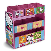 Delta Children Multi-Bin Toy Organizer, Hello Kitty