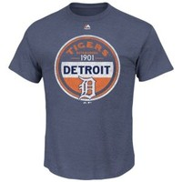Majestic MLB Circle Logo T-Shirt - Men's