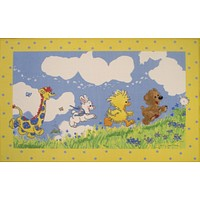 Fun Rugs Little Suzy's Zoo Collection Looking For The Wishing Puff Area Rug
