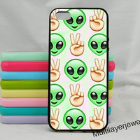 Extraterrestrial iPhone 5/5s Case,extraterrestrial emoji iphone 4s case,iphone 4,iphone 5c case,samsung galaxy s3/s4/s5 case,Victory Gesture