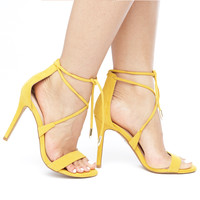 CHARLI HEEL - YELLOW