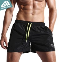 New Quick Dry Mens Swim Shorts Summer Mens Board Shorts Surf Swimwear Beach Short Male Athletic Running Gym Short Man SD001