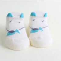 Mouse Printed Baby Ankle Socks