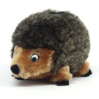 Kyjen Plush Hedgehog Rattle Dog Toy