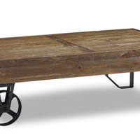 Dupont Coffee Table RUSTIC BROWN