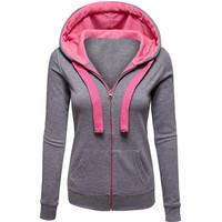 new womens autumn winter sweater casual sports hoodie gift 127