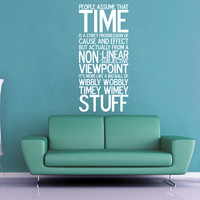 Wibbly Wobbly Wall Decal