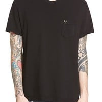 Men's True Religion Brand Jeans 'Crafted With Pride' Pique Pocket T-Shirt,