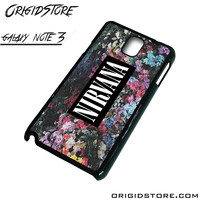 Nirvana Floral Flower Case For Samsung Galaxy Note 3 Case
