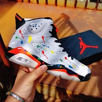 Air Jordan 6 AJ6 high top sneakers shoes