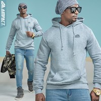 AIMPACT Cotton Unisex Fleece Hoodies 2018 New Fashion Casual Sweatshirts with Hoody Brand Clothing Coat Pullovers for Men Women