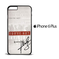 Hunter Hayes Quote A0288 iPhone 6 PLus Case
