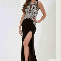 Jasz Couture Fitted Long Dress 5672