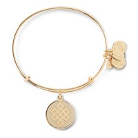 Ivory Endless Knot Charm Bangle
