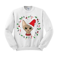 Sphynx Cat Crewneck Sweatshirt