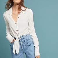 Faithfull Whitney Textured Buttondown
