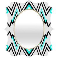 Elisabeth Fredriksson Wicked Valley Pattern 1 Quatrefoil Mirror