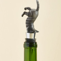 Quench Your Curiosity Wine Stopper | Mod Retro Vintage Kitchen | ModCloth.com
