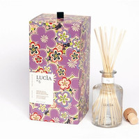 Lucia Wild Ginger and Fresh Fig Aromatic Reed Diffuser design by Lucia