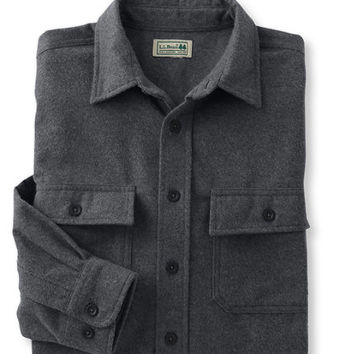 Bean's Chamois Cloth Shirt, Traditional Fit: Flannel, Chamois and Lined   Free Shipping at L.L.Bean