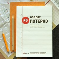 Paperways A5 one day notepad