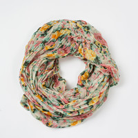 Tammy Floral Circle Scarf
