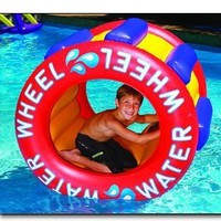The Inflatable Water Wheel Water Float Toy for Swimming Pool & Beach:Amazon:Home Improvement