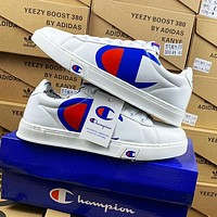 Onewel Champion Fasion Blue White Print Flat Shoes Classic Sports Shoes