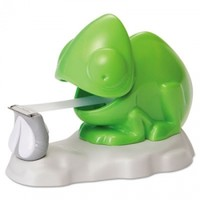 "Discount Chameleon Tape Dispenser, 1"" Core, For 3/4"" x 125' Rolls, ABS Plastic, Green - Scotch Tape & Dispensers in stock at OfficeSuperSavers.com"