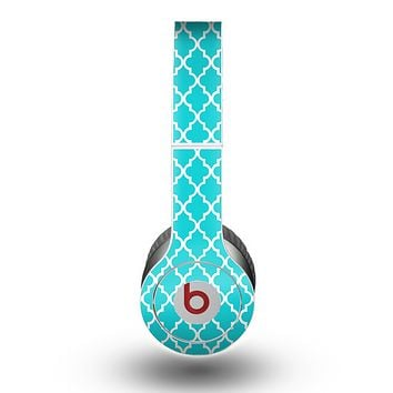 The Morocan Teal Pattern Skin for the Beats by Dre Original Solo-Solo HD Headphones