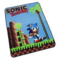 Sonic the Hedgehog Fleece Blanket