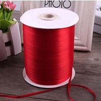 3mm 25 Yards 22M Cheap Satin Ribbon For Arts Crafts & Sewing Christmas Wedding Party Decoration Gift Wrap Handmade DIY Material