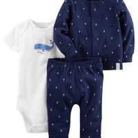 3-Piece Babysoft Little Cardigan Set