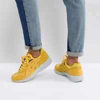 Asics Gel Trainers In Yellow at asos.com