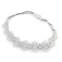 Aerie Metallic Lace Hairband | Aerie for American Eagle