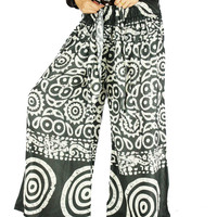 Gypsy pants Harem pants Thai pants Hippie clothes Hippie pants Palazzo Pants Sewing Pattern