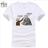HanHent Game of Thrones Breaking Bad T Shirts Men Hodor funny Man T-Shirts Cotton O Neck casual tshirt US Size Gym Tops TA0411