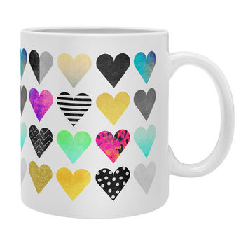 Elisabeth Fredriksson Happy Hearts Coffee Mug