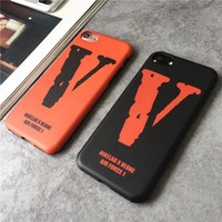 Vlone Popular Print iPhone 6 6s 6Plus 6sPlus 7 7 Plus Phone Cover Case