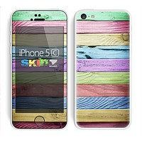 The Light Color Planks Skin for the Apple iPhone 5c
