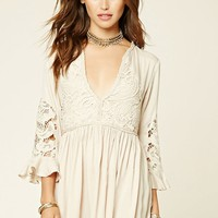 Selfie Leslie Bell-Sleeve Dress