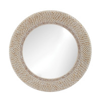 Ribbed Ring Shell Mirror design by Lazy Susan