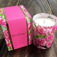 Lilly Pulitzer 8 oz. Holiday Candle