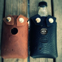 Leather Whiskey Holster