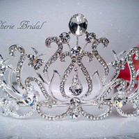 Bridal Tiara Wedding Tiara Quinceanera Tiara Bridal Hair Accessories Crystal Tiara Tiara Headband Tiara Comb Bridal Tiaras